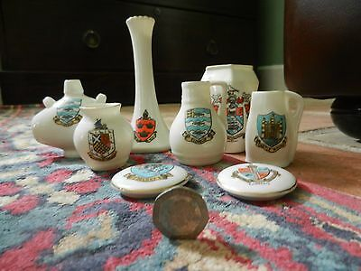 8 GOSS CRESTED CHINA see scan