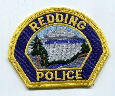 Redding California Police Patch
