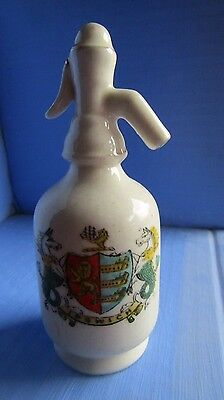 Swan China Soda Syphen with Ipswich Crest