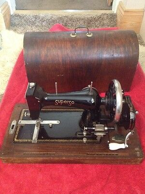 Antique Sewing Machine The SUPER SO Made For SELFRIDGES