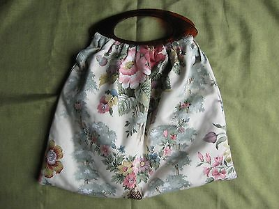 Home Made Sewing Or Knitting Bag
