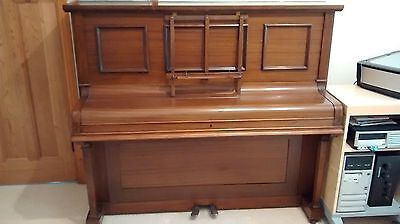 Upright Piano Overstrung Good Condition