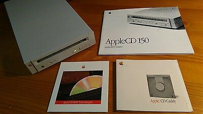 AppleCD 150 * lector CD-ROM externo SCSI * tb. compatible con Samplers Akai, etc