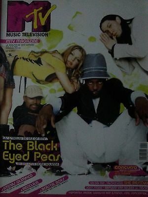 The Black Eyed Peas (Fergie) report cover spanish magazine