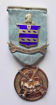 Masonic Silver Chapter Jewel for Middlesex circa 1920