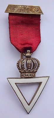 Masonic Silver Members Jewel for The Royal and Select Masters 1950