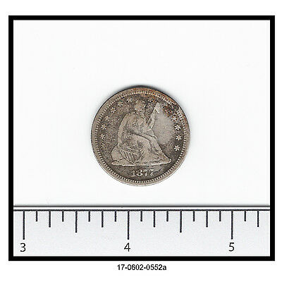 1877-S Seated Quarter (0.900 Silver)