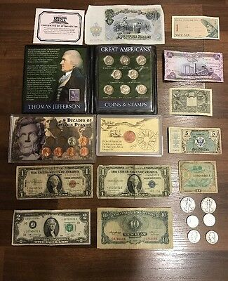 Lot of US and Foreign Money.  Silver Pre 1964 (Lot #3)