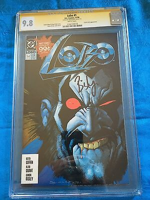 Lobo #1 (1990) - DC - CGC SS 9.8 NM/MT - Signed by Simon Bisley
