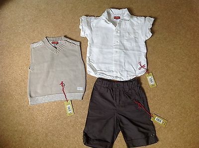 confetti boys occassin outfit 3 Piece Set 12-18 months (worn Once, Cost £62)