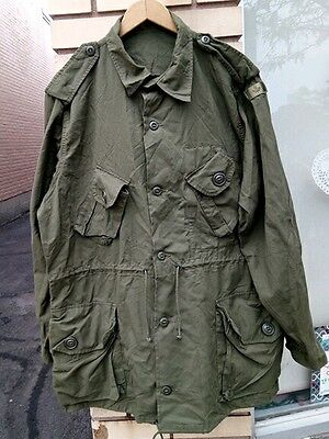Canadian Forces Lightweight Combat Jacket OD Green Size Men's Large Long 7346