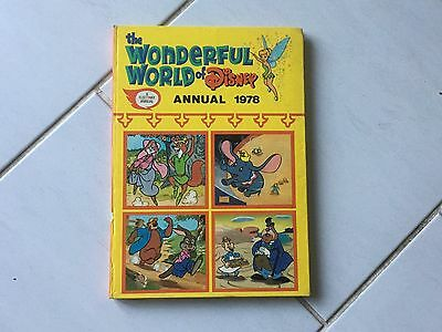 The Wonderful World of Disney Annual 1978 - Hardback