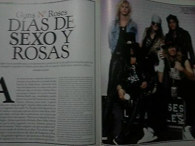 Guns N´ Roses (Axel Rose) report spanish magazine Rolling Stone October 2007