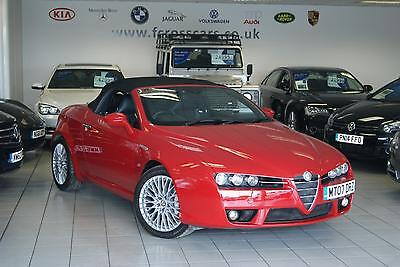 2007 Alfa Romeo Spider Jts V6 Q4 Qtronic 18 Inch Alloys Leather  Convertible Pet