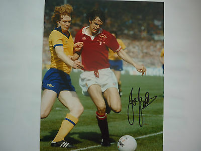 Manchester United Joe Jordan hand signed photo 10x8 COA