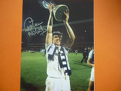 Tottenham Graham Roberts hand signed photo 10x8 COA