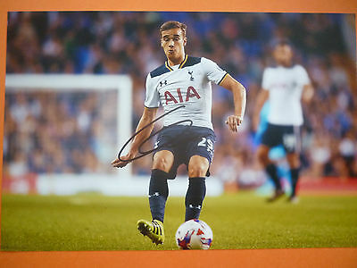 Tottenham Harry Winks hand signed photo 12x8