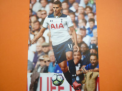 Tottenham Eric Lamela hand signed photo 12x8