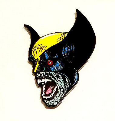 Undead Wolverine Pin Lapel pins marvel X-Men legends