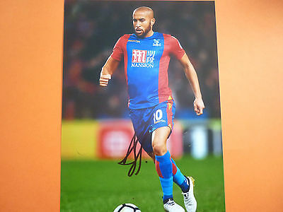 Crystal Palace Andros Townsend hand signed photo 12x8