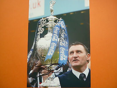 West Brom Tony Mowbray hand signed photo 12x8