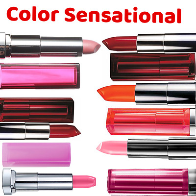 Maybelline Colour Sensational Lipstick NEW choose your color shade