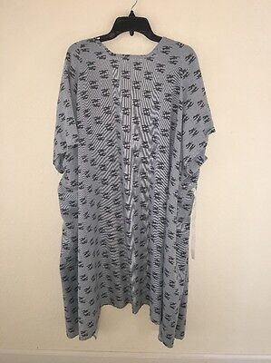 Harbor Linen Health Care Hospital Gown Size Xl