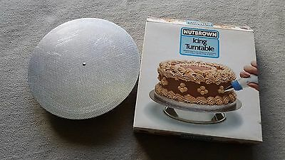 Vintage Nutbrown Icing turntable great condition