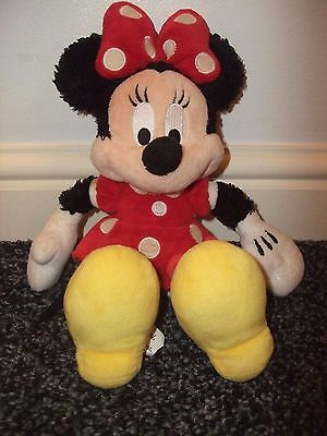 """Minnie Mouse soft plush toy 10"""""""
