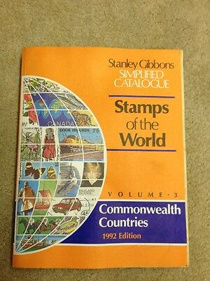 Stamps of the World 1992 - Volume 3 Stanley Gibbons