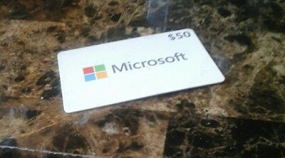 Microsoft Retail Store 50$ Gift Card [no expiration - $10 dollars off