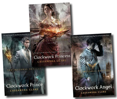 The Infernal Devices Collection  3 Books Set by Cassandra Clare  Free P & P