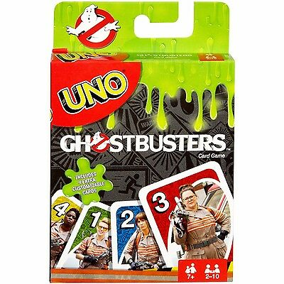 UNO Ghostbusters Edition Card Game