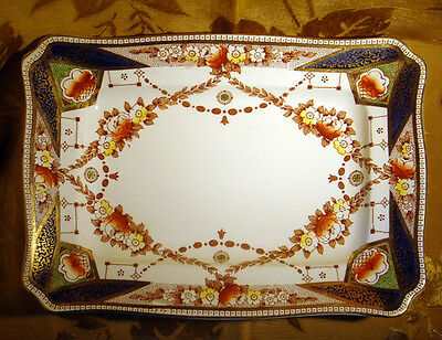 """A.j.wilkinson Royal Staffordshire *stafford* Serving Platter 13"""" Made In England"""