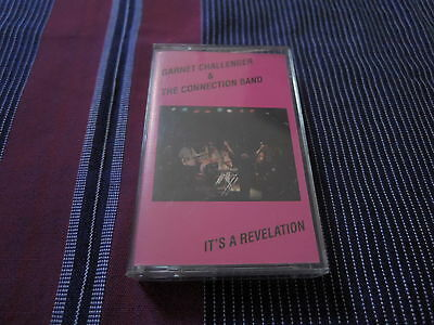 Garnet Challenger New Connection Band It's A Revelation TAPE private reggae rare