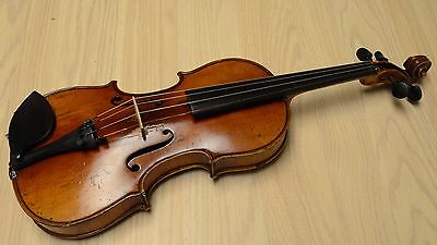 Antique 5/8 German violin Guarnerius Cremona copy 1920s, very nice sound, listen