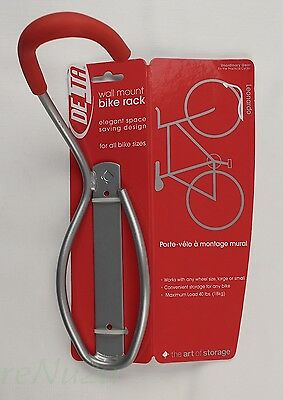 NEW (NOS) Delta/The Art of Storage, Leonardo Wall Mount Bike Rack