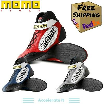 Momo GT Pro Driving Shoes - FIA 8856/2000 - All Sizes/Colors - R576