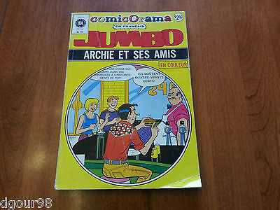 French JUMBO ARCHIE #149 (8 comics)  Editions Heritage FRANCAIS