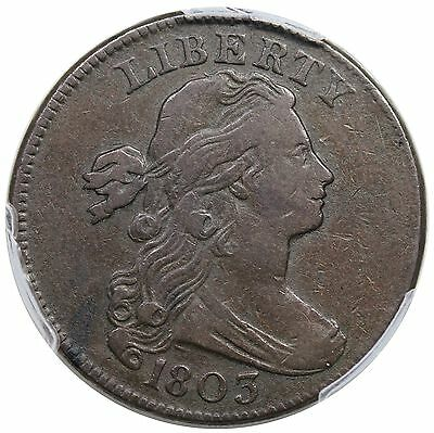 1803 Draped Bust Large Cent, Small Date & Fraction, S-251, PCGS VF25