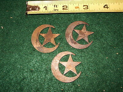 5 Of Us  Civil War Brass  Crescent And Star