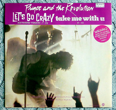 "Prince And The Revolution - Let's Go Crazy - Extended 3 Track 12""/12Inch Single"