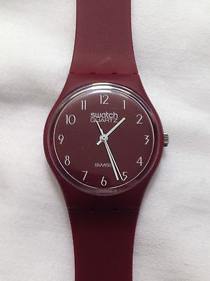 Swatch Watch 1983 Vintage GR103 No Name As New