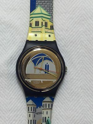 Swatch Watch Vintage 1992 GN120 Backstage As New Unworn