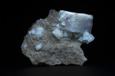 JH16716 Root Beer Fluorite Crystals, Clay Center, OH
