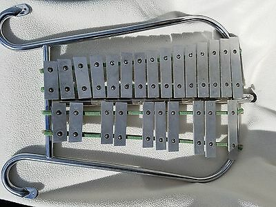 Vintage Jen-Co Marching Band Glockenspiel Xylophone G-VG Condition inv# 2117