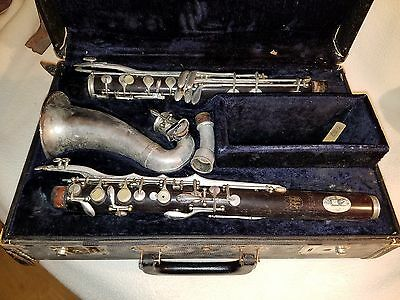 CONN WOOD ALTO CLARINET PARTS/REPAIR GOOD CONDITION ser#k66873   inv# 2094