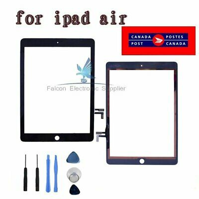 For iPad Air 5th Black Touch Screen Digitizer Replacement Part+  Adhesive Tools