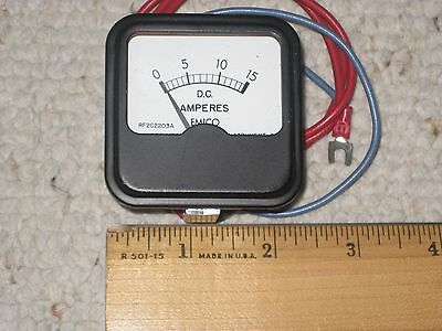 Emico Ammeter Model RF2C2203A 0 - 15 DC AMPS  2 INCHES
