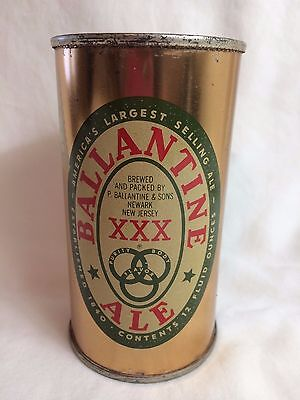 Ballantine XXX Ale Flat Top Beer Can